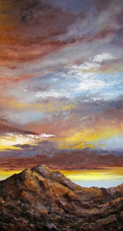 Sunset_Desert_Mtn_Oil_60x40_300dpi